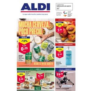 Catálogo Aldi 4 agosto-10 agosto 2021