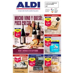 Catálogo Aldi 22 septiembre-28 septiembre 2021
